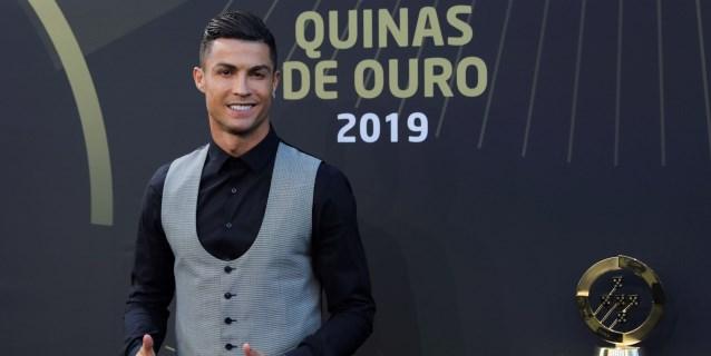 """Ronaldo gana en su país a Joao Félix y es elegido """"Jugador del Año"""""""