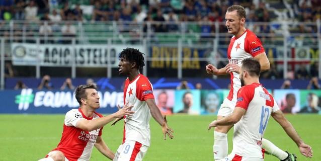1-1. El Inter tropieza en San Siro ante una obra maestra táctica del Slavia