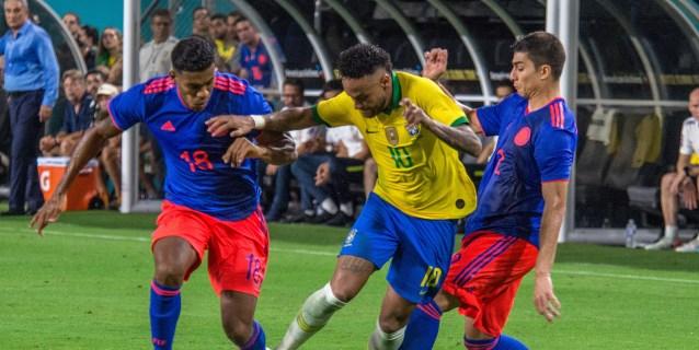 2-2. Neymar anota en su regreso pero Brasil no pasa del empate con Colombia