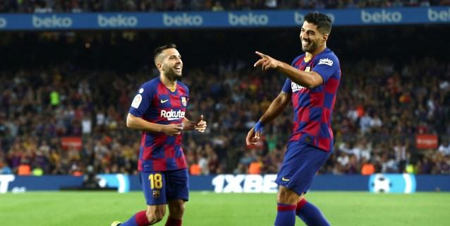 5-2. El Barcelona de Ansu Fati y Luis Suárez agua el debut de Celades