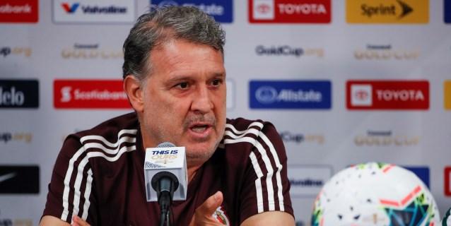 México quiere mantener su buena racha con Martino
