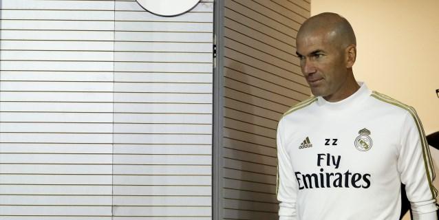 """Zidane: """"Estoy fuera cuando perdemos y dentro cuando ganamos"""""""