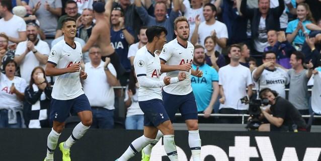 El Tottenham golea con un gran Son