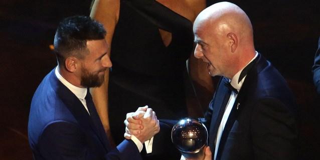 Messi y Rapinoe, estrellas en La Scala de Milán