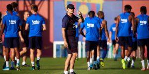 Suárez se reincorpora a los entrenamientos; Messi, no