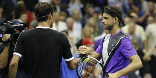 TENIS: Federer cae en los cuartos de final del Abierto de EEUU, ante un Dimitrov decidido y resuelto
