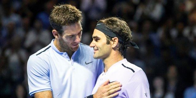 Federer y Del Potro jugarán un amistoso en Argentina el 20 de noviembre