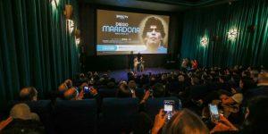 Kapadia presentó su documental sobre Maradona a sala llena en Argentina