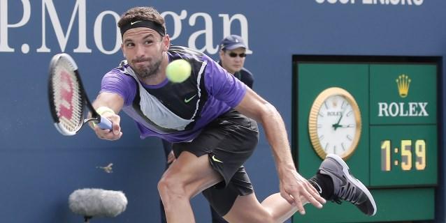 TENIS: Dimitrov vence a De Miñaur y jugará contra Federer