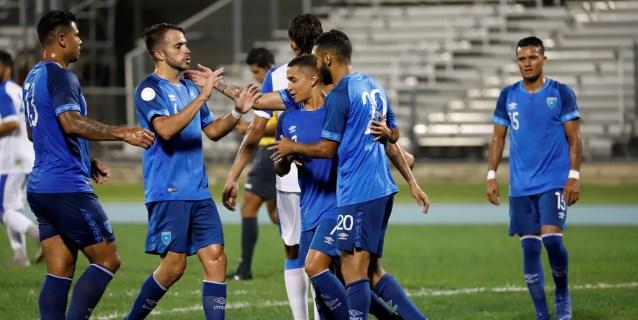 5-0.Guatemala apabulla a Puerto Rico y logra su segundo triunfo en la Liga Concacaf