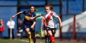 Boca golea a River por 5-0 en el primer superclásico femenino profesional