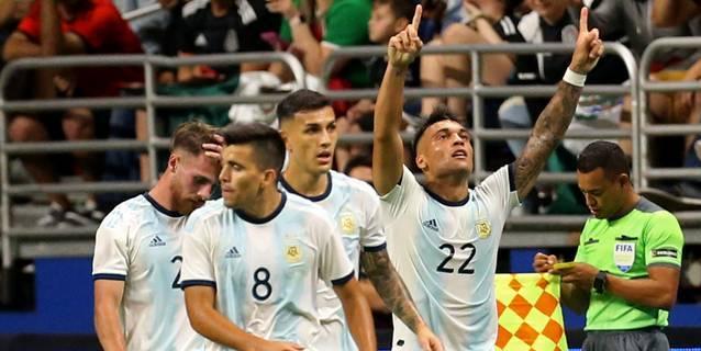 4-0. Argentina le da un baile a México, que pierde invicto en la era Martino