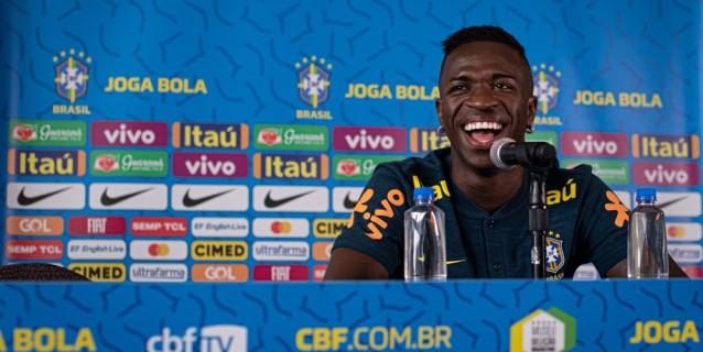 Vinicius Júnior, ansioso por cumplir sueño de estrenarse con la Canarinha