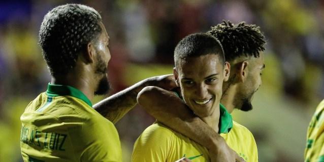 4-1. Brasil golea a Venezuela con la mira puesta en Tokio 2020