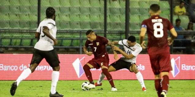2-0. Rondón y Machís anotan en la victoria de Venezuela sobre Tinidad y Tobago