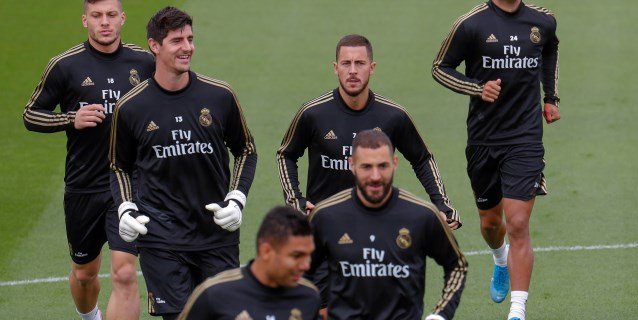 Kroos, Varane y Courtois entrenan con el grupo; Modric y Bale son baja
