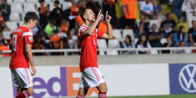 0-5. Cheryshev guía a Rusia hacia la Eurocopa