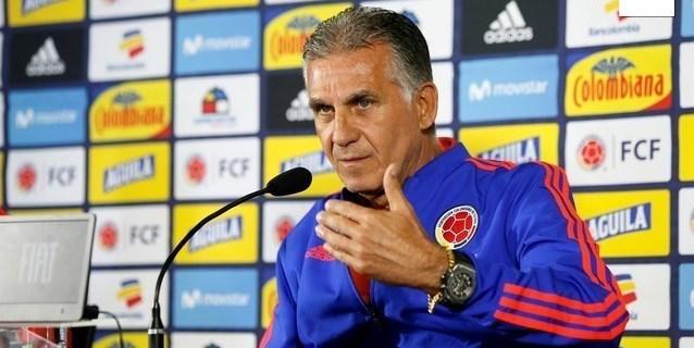 Queiroz niega un pacto con James y dice que convocó a los mejores para Colombia