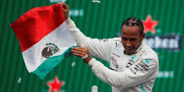 F1: Hamilton resuelve en México pero deberá esperar para festejar su sexto título