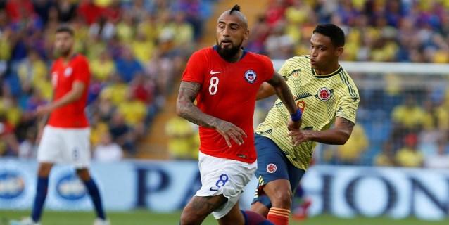0-0. Chile resiste con oficio el empuje de una atrevida Colombia