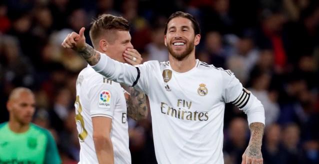 5-0. El Real Madrid encuentra la tranquilidad