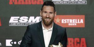 """Messi: """"Sin mis compañeros no hubiera conseguido ni siquiera una"""""""
