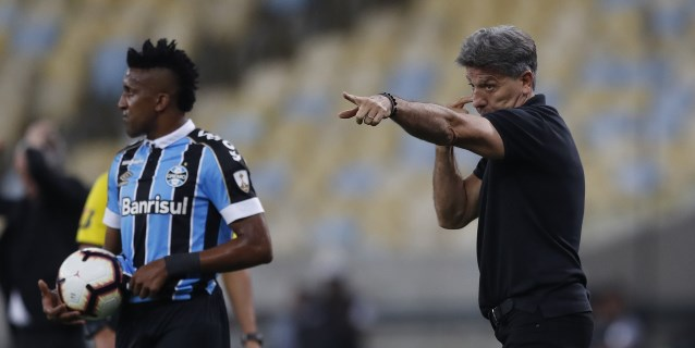 """Renato Gaúcho: """"Incluso una embarazada haría un gol hoy al Gremio"""""""