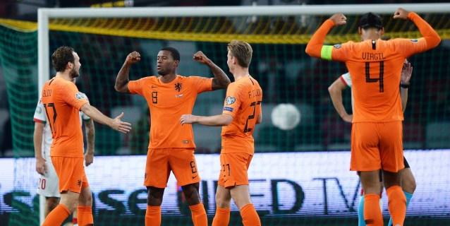 1-2. Países Bajos acaricia la clasificación tras una exhibición de Wijnaldum