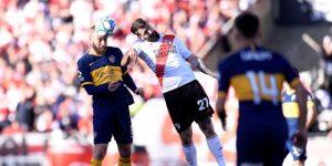 Boca y River enfrentan su última prueba antes del superclásico copero