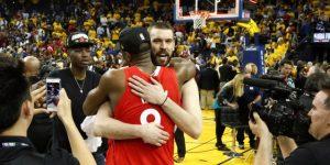 NBA: 130-122. Los Raptors sufren para ganar el primer partido de la temporada