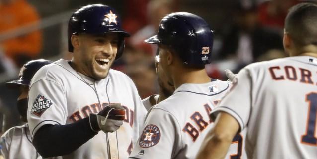 7-1. Cole silencia a los Nacionales y los Astros se ponen a un triunfo del título de la Serie Mundial
