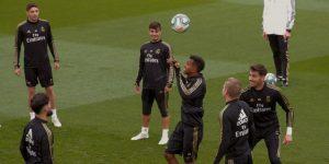 Bale, Varane, James y Benzema no hacen trabajo de campo