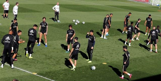 Zidane recupera internacionales pero pierde a Modric, Bale y Lucas Vázquez
