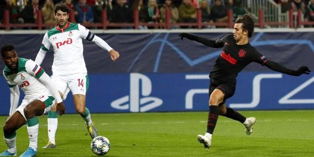 0-2. Joao Felix lidera al Atlético en Moscú