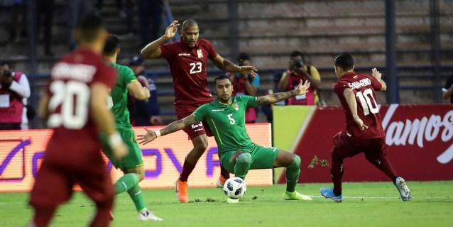 4-1. Salomón Rondón metió dos goles y Venezuela goleó a Bolivia
