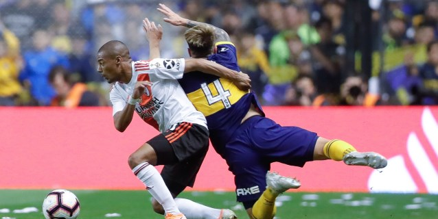 1-0. River le propina otro duro golpe a Boca y se clasifica a la final de la Libertadores