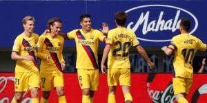 El 'tridente' da el triunfo al Barcelona (0-3)