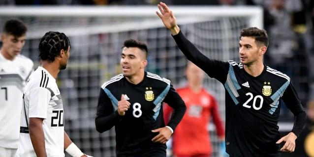 2-2. Argentina, sin Messi, despierta en la segunda parte e iguala a Alemania