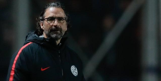 Juan Antonio Pizzi deja el banquillo de San Lorenzo por los malos resultados