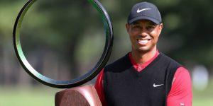 GOLF: Tiger Woods continúa su escalada y ya es sexto
