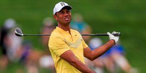 GOLF CHIBA: Tiger Woods, a siete hoyos de la victoria y de un nuevo récord