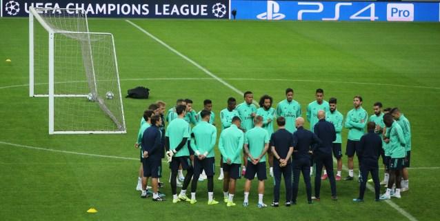 Charla de Zidane y última sesión en el Ali Sami Yen