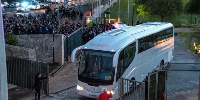 Argentina y Messi desatan la locura en Mallorca