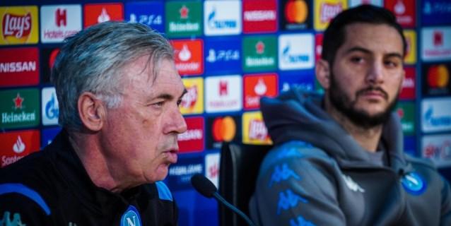 El presidente del Nápoles concentra al equipo hasta el domingo para salir de la crisis