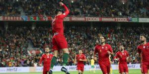 6-0. Portugal golea y Ronaldo despeja dudas