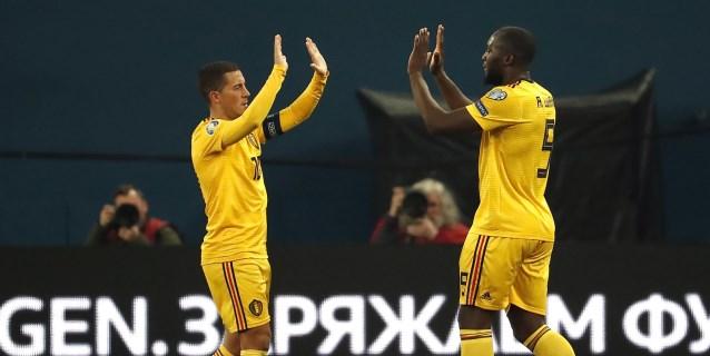 1-4. Un Hazard estelar garantiza a Bélgica el liderato