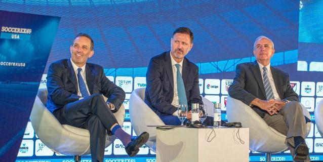 EE.UU. será un temible rival para Europa, dice el presidente del foro Soccerex