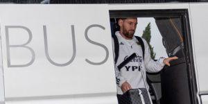 La Argentina de Messi vuela de Palma a Arabia Saudí para jugar contra Brasil