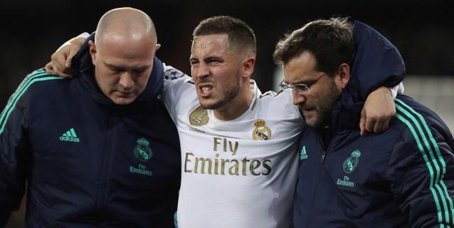 La lesión de Hazard se queda en una contusión y apunta al clásico