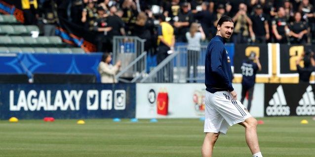 Ibrahimovic deja al Galaxy después de dos temporadas sin darle ningún título